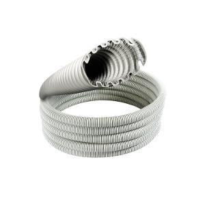CONDUIT CORRUGATED M/D 25MM/20M GRY
