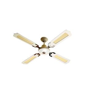 Clipsal ceiling fans sherriff ceiling fan 4 blade rattan white pwired aloadofball Gallery