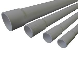 CONDUIT MD RIGID PVC 20MMX4MTR GREY