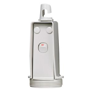 PENDANT OUTLET SWITCHED 15A 250V GREY