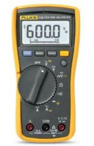 MULTIMETER TRMS AC/DC COMPACT 600V CAT3