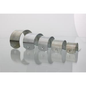 SADDLE CONDUIT HALF 25MM ZINC PLATED