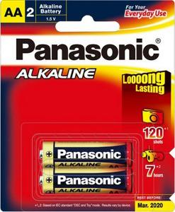 PANASONIC AA ALKALINE BATTERY