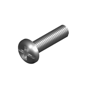 SCREW PAN HEAD M6X20 ZINC