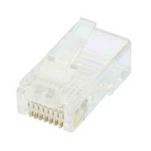 PLUG CAT6 8P8C UN-SHIELDED 2PC 10PK