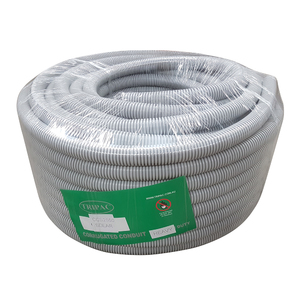 CORRUGATED CONDUIT SOLAR GREY 25MM X 50M