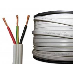 CABLE FLAT 2.5MM TWIN & EARTH
