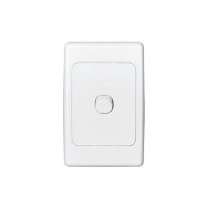 SWITCH 1GANG VERTICAL 10A WHITE