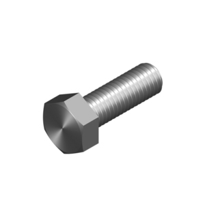 BOLT HEX HEAD M10X40MM HDG
