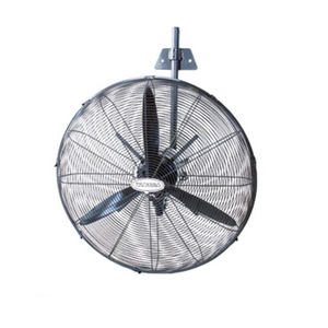 WALL FAN INDUSTRIAL 650MM BLACK