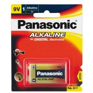 PANASONIC 9V ALKALINE BATTERY