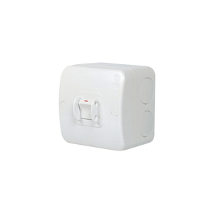 SWITCH 1G 20A S/POLE SURFACE DEEP IP56