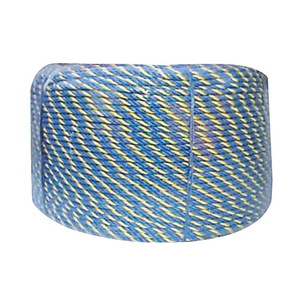 ROPE TELSTRA BLUE/YELLOW 6MM X 400MTR